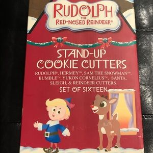 RUDOLPH THE REINDEER NEW STAND-UP COOKIE CUTTERS